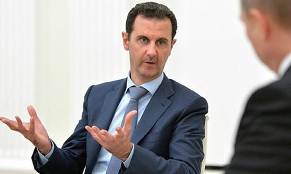 Tổng thống Syria Bashar Assad nói Mỹ không có hành động cụ thể để tiêu diệt IS. Ảnh:Thehill