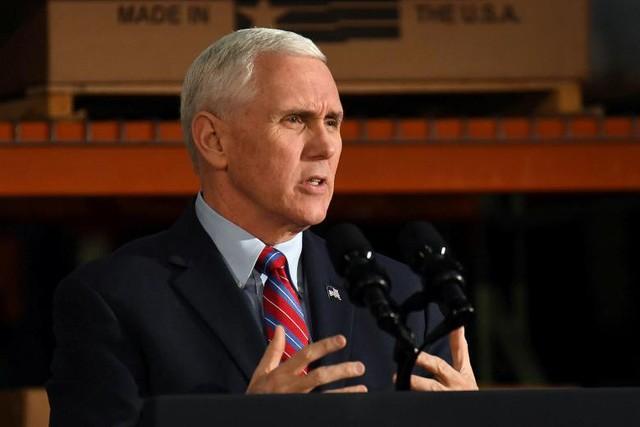 Phó Tổng thống Mỹ Mike Pence. (Ảnh: Reuters)