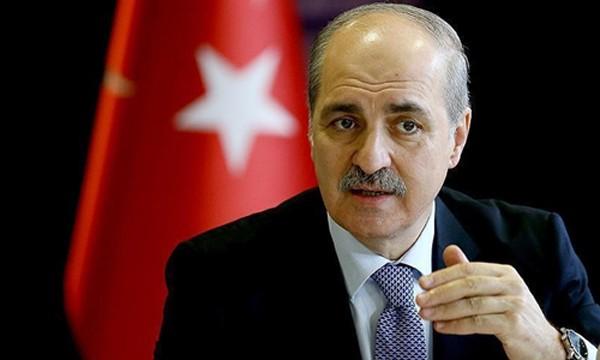 Phó thủ tướng Thổ Nhĩ Kỳ Numan Kurtulmus. Ảnh:Vestnik Kavkaza.