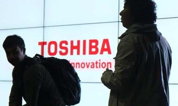 Toshiba đã 2 lần lỡ hẹn công bố báo cáo tài chính. Ảnh:AFP