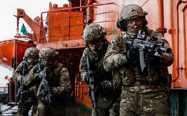 Lực lượng an ninh liên bang Nga (FSB). Ảnh: ArtofMilitary