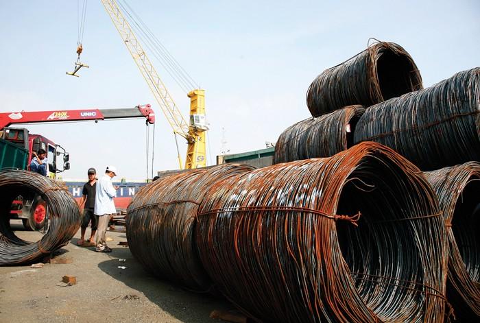 Hiệp hội Thép Việt Nam cho rằng giá thép xây dựng sẽ không tăng đột biến. Ảnh: Lê Tiên
