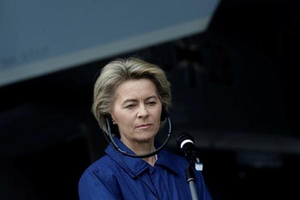 Bộ trưởng Quốc phòng Đức Ursula von der Leyen. Ảnh:Reuters
