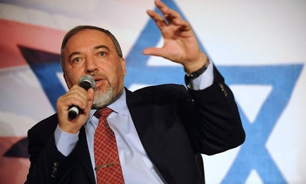 Bộ trưởng Quốc phòng Israel Avigdor Liberman. Ảnh:AFP