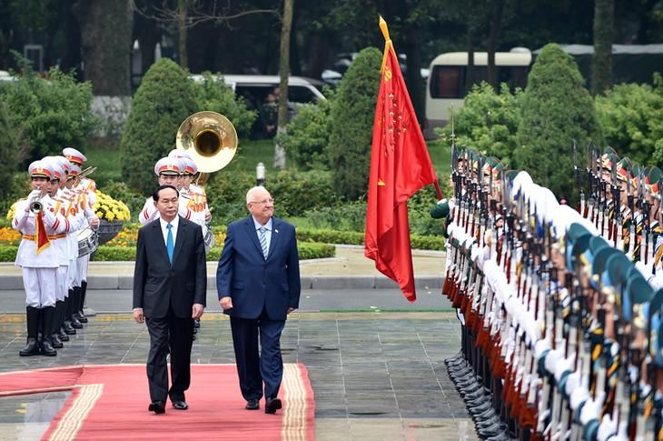 Việt Nam và Israel đặt mục tiêu nâng kim ngạch thương mại song phương lên 3 tỷ USD/năm trong những năm tới. Ảnh: Nhật Bắc