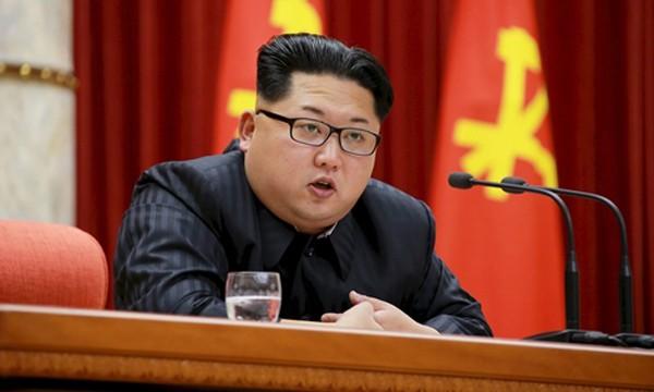 Nhà lãnh đạo Triều Tiên Kim Jong-un. Ảnh:Reuters.