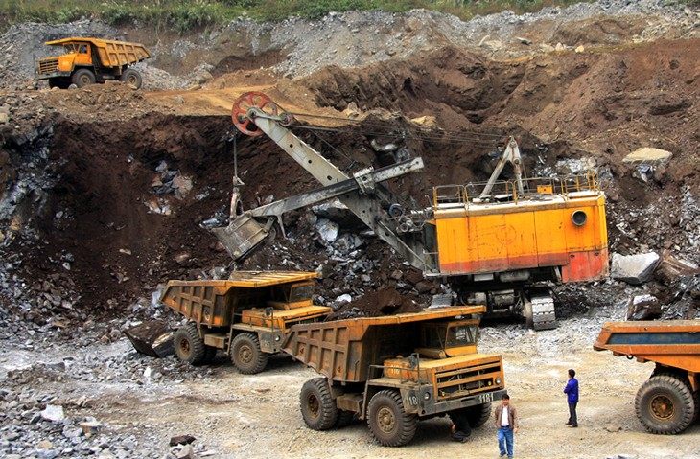 Số lượng mỏ khoáng sản được đem ra đấu giá không nhiều. Ảnh: Minh Anh