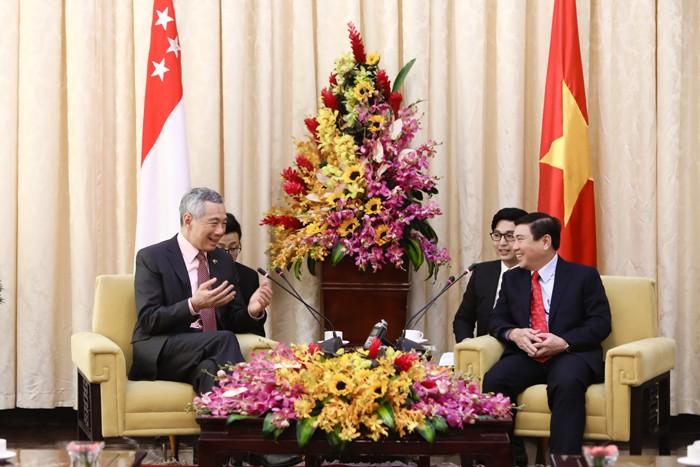 Tính đến tháng 2/2017, Singapore là nhà đầu tư lớn nhất tại TP.HCM với hơn 930 dự án và tổng số vốn hơn 10 tỷ USD. Ảnh: Hoàng Hà