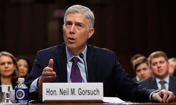 Ứng viên thẩm phán toà án tối cao Mỹ Neil Gorsuch. Ảnh:CNN