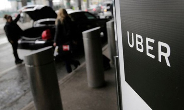 """Uber hiện vẫn từ chối tùy chọn """"tiền hoa hồng"""" cho lái xe. Ảnh:AP"""