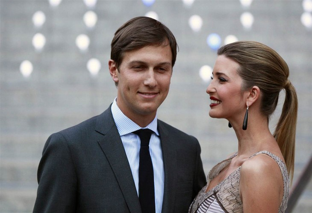 Jared Kushner và người vợ Ivanka Trump (Ảnh: NBC News)