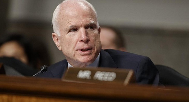 Thượng Nghị sĩ John McCain (Ảnh: AP)