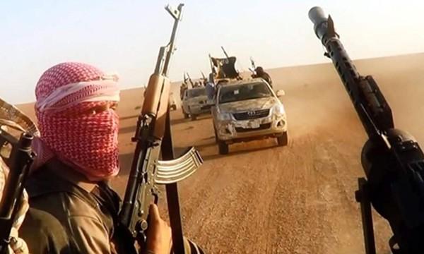 Phiến quân Nhà nước Hồi giáo. Ảnh:AFP.