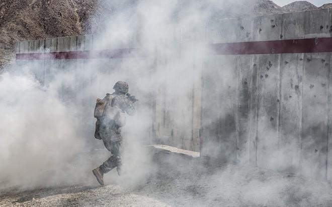 Lính thủy đánh bộ Mỹ huấn luyện tác chiến đô thị