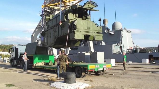 Nga gắn tên lửa phòng không lục quân lên tàu chiến