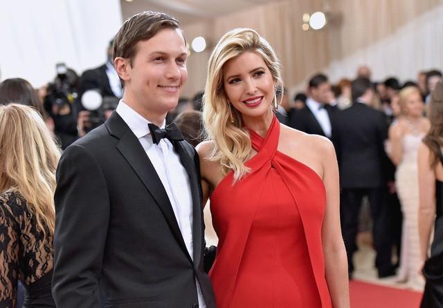 Ivanka và người chồng Kushner giờ đây đều là cố vấn cho Tổng thống Trump tại Nhà Trắng (Ảnh: Getty)