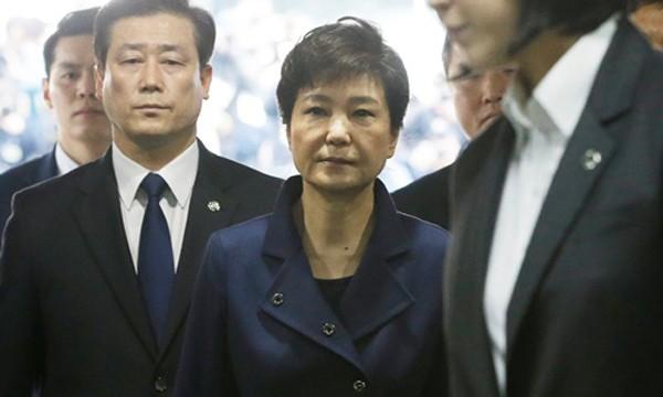 Cựu tổng thống Park Geun-hye. Ảnh:Reuters.