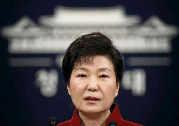 Cựu tổng thống Hàn QuốcPark Geun-hye. Ảnh:Reuters