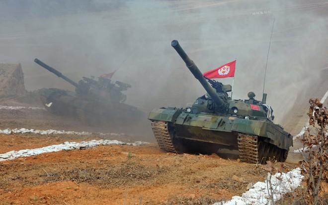 Thiết giáp Triều Tiên so tài tại giải đấu tăng nội địa