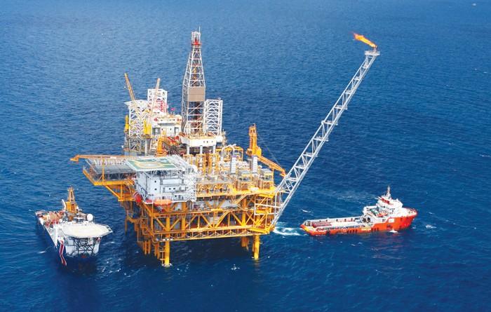 Nếu mức khai thác dầu khí quý I/2017 bằng năm ngoái thì tăng trưởng quý I có thể đạt ở mức 5,95%, cao hơn cùng kỳ năm 2016. Ảnh: Tiến Vương