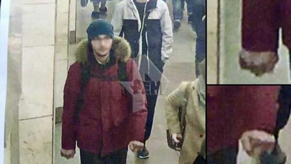 Kẻ được cho là nghi phạm trong vụ đánh bom. Ảnh:RenTV.