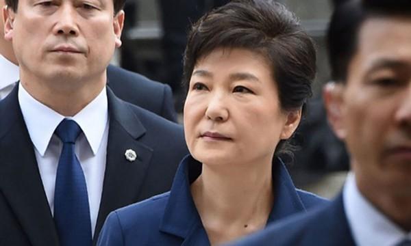 Cựu tổng thống Hàn Quốc Park Geun-hye. Ảnh:Yonhap