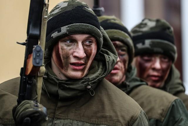 """Sức mạnh """"đáng nể"""" của Vệ binh Quốc gia Nga"""