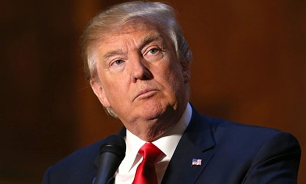 Tổng thống Mỹ Donald Trump. Ảnh:AP.