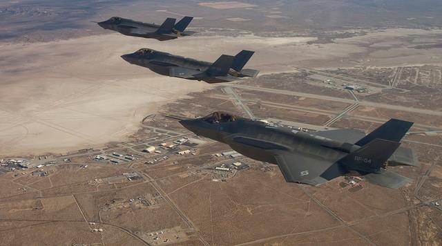 Các tiêm kích tàng hình F-35 của Mỹ (Ảnh: Reuters)