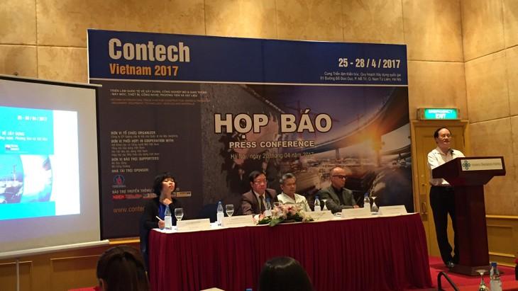 Cơ hội cho các nhà thầu Việt Nam tại CONTECH VIETNAM 2017