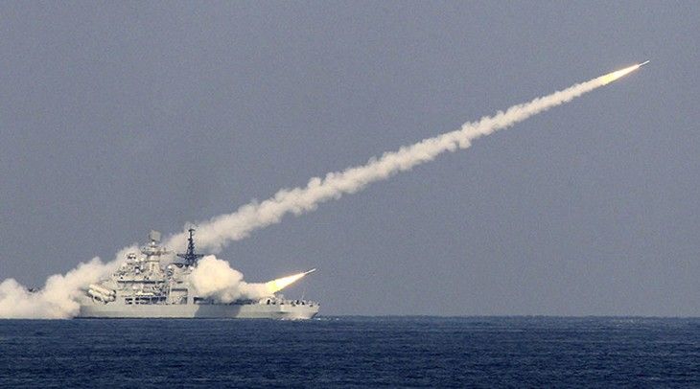 Một vụ phóng thử tên lửa của Trung Quốc. (Ảnh minh họa: Reuters)