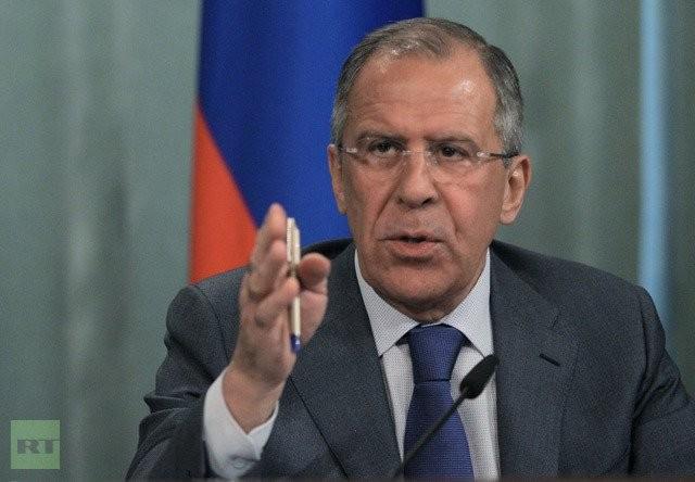 Ngoại trưởng Nga Sergei Lavrov. (Ảnh: RT)