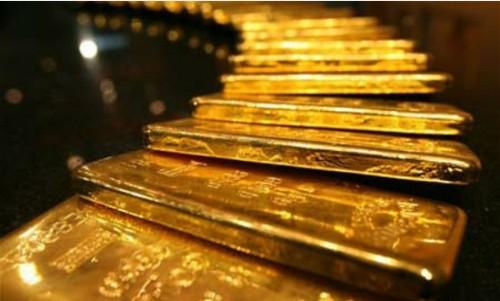 Giá vàng thế giới tăng mạnh.