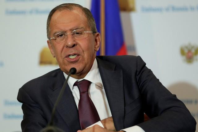 Ngoại trưởng Nga Sergey Lavrov (Ảnh: Reuters)