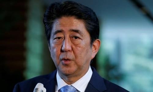 Thủ tướng Nhật Bản Shinzo Abe. Ảnh:Reuters