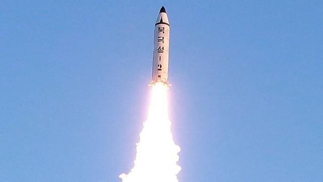 Tên lửa Triều Tiên phóng đi hôm qua là tên lửa Pukguksong-2. (Ảnh minh họa: Reuters)