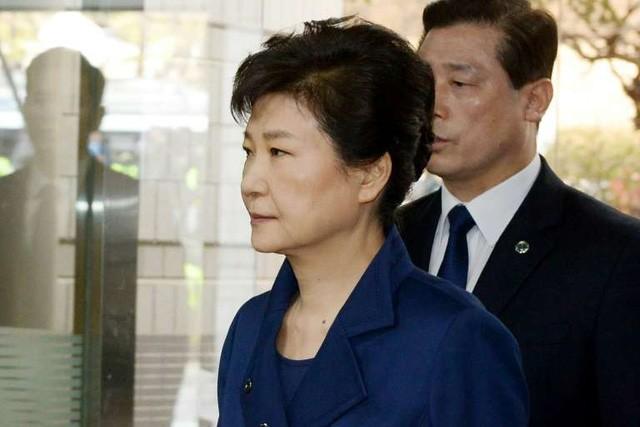 Cựu Tổng thống Hàn Quốc Park Geun-hye (Ảnh: AFP)