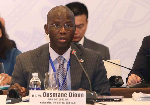 Ông Ousmane Dione, Giám đốc quốc gia WB tại Việt Nam.