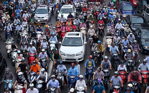 Hà Nội lên kế hoạch cấm xe máy vào năm 2030.