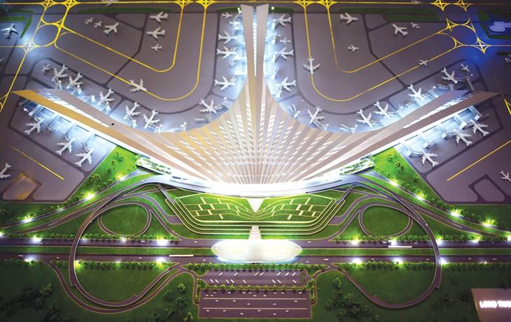 Báo cáo nghiên cứu khả thi dự án thu hồi đất, bồi thường, hỗ trợ, tái định cư Sân bay Long Thành dự kiến được Quốc hội xem xét, thông qua tại Kỳ họp thứ 4. Ảnh: Lê Hiếu