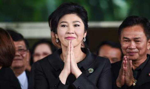 Cựu thủ tướngYingluck Shinawatrađược nhìn thấy lần cuối cùng ở nhà riêng vào khoảng 2h chiều ngày 23/8. Ảnh:Bangkok Post.
