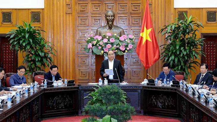 Thủ tướng Chính phủ Nguyễn Xuân Phúc chủ trì cuộc họp về xây dựng kết cấu hạ tầng