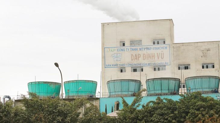 Đến thời điểm 31/3/2018, vốn chủ sở hữu của DAP - Vinachem đã mất gần 1/3, chỉ còn 1.037,56 tỷ đồng. Ảnh: Nhã Chi