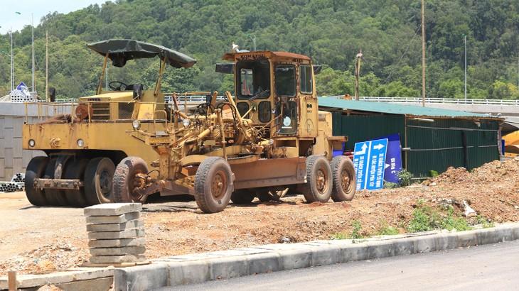 Dự án Nâng cấp, mở rộng tuyến đường Thịnh - Đông, huyện Hoằng Hóa (giai đoạn 1) theo loại hợp đồng BT được chỉ định cho nhà đầu tư lập đề xuất dự án. Ảnh: Lê Tiên