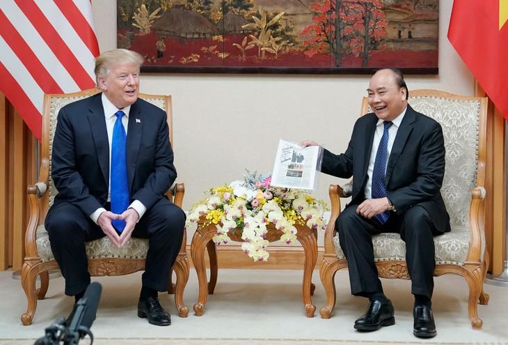 Việt Nam coi trọng phát triển quan hệ Đối tác toàn diện với Hoa Kỳ
