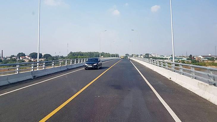 Công ty Thái Sơn đã chuyển nhượng trái quy định một số gói thầu tại Dự án BOT Xây dựng cầu Việt Trì mới cho doanh nghiệp khác để hưởng lợi. Ảnh: Thái Sơn