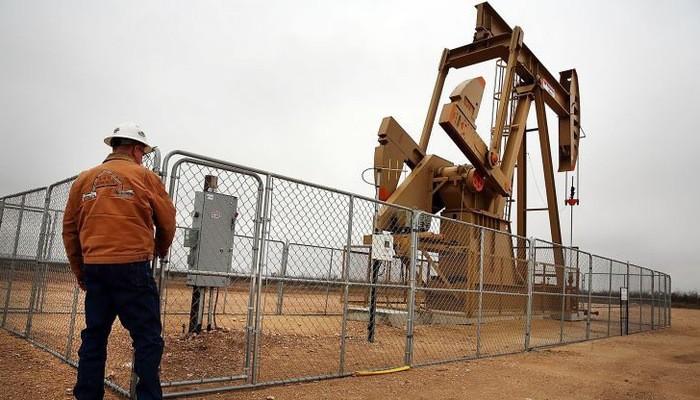 Một giếng dầu ở vùng Permian Basin thuộc bang Texas của Mỹ hồi năm 2015 - Ảnh: Reuters/CNBC.