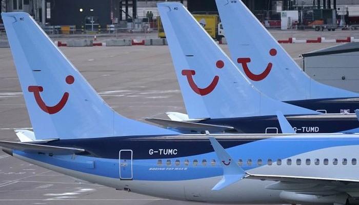 Máy bay 737 Max đậu ở sân bay Manchester, Anh, ngày 12/3 - Ảnh: Getty/CNBC.