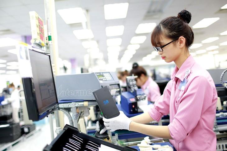 Nhiều tập đoàn, doanh nghiệp lớn của Hàn Quốc có ý định mở rộng sản xuất, kinh doanh tại Việt Nam. Ảnh: Việt Hưng