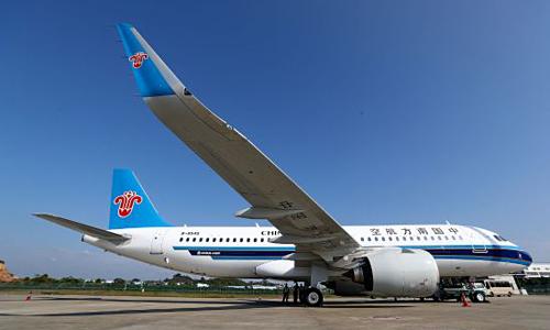 Máy bay A320neo của một hãng hàng không Trung Quốc. Ảnh:FlightGlobal